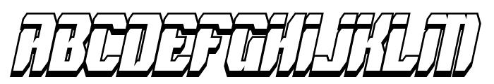 Spyh Shadow Italic Font UPPERCASE
