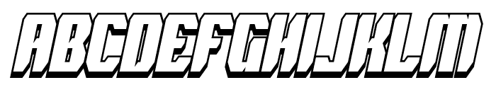 Spyh Shadow Italic Font LOWERCASE