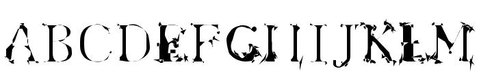 Spyhink Font UPPERCASE