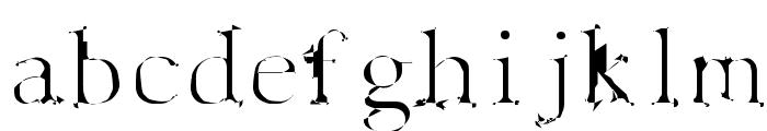 Spyhink Font LOWERCASE