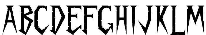 Spykker Regular Font UPPERCASE