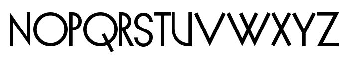Spyrogeometric Font UPPERCASE