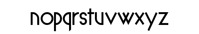Spyrogeometric Font LOWERCASE