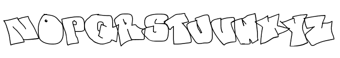 spanky  20 second version Font UPPERCASE