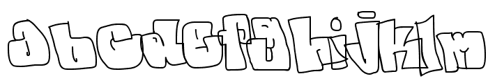 spanky  20 second version Font LOWERCASE