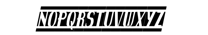 spanky's b blanco italico Font LOWERCASE