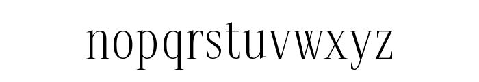 spirequal Light Font LOWERCASE