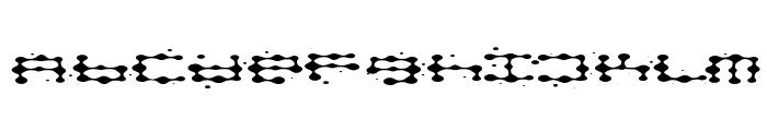 splat Font LOWERCASE