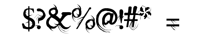splitendz Font OTHER CHARS