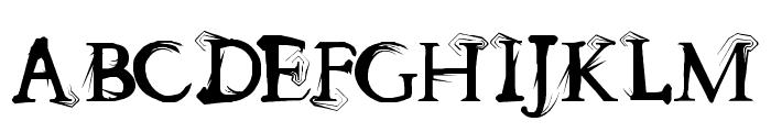 splitendz Font UPPERCASE