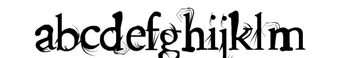 splitendz Font LOWERCASE