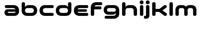 Space Colony Bold Font LOWERCASE