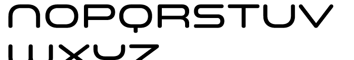 Space Colony Medium Font UPPERCASE