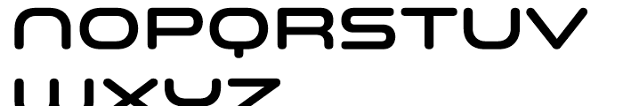 Space Colony SemiBold Font UPPERCASE