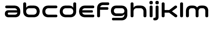 Space Colony SemiBold Font LOWERCASE