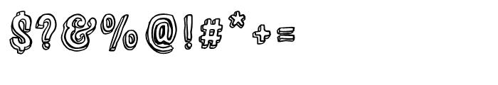 Sparhawk Regular Font OTHER CHARS
