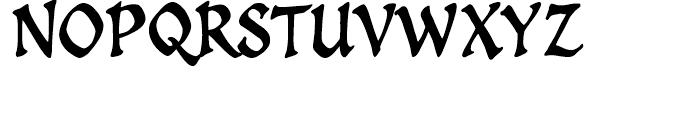 Spellcaster Regular Font UPPERCASE