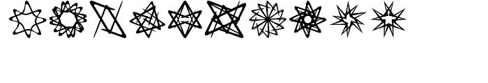Spirograf Regular Font OTHER CHARS