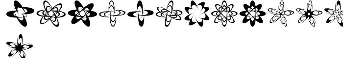 Spirograf Regular Font UPPERCASE