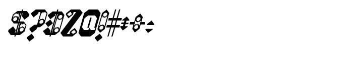 Sprokett Italic Font OTHER CHARS