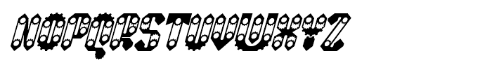 Sprokett Italic Font UPPERCASE