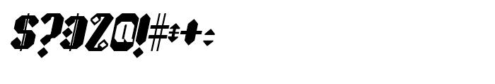 Sprokett Outerkog Italic Font OTHER CHARS