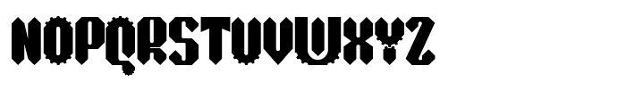 Sprokett Outerkog Font UPPERCASE