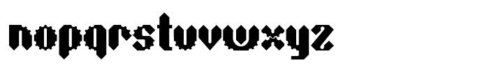 Sprokett Outerkog Font LOWERCASE