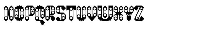 Sprokett Regular Font UPPERCASE