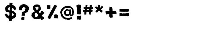 Spud AF Crisp Font OTHER CHARS