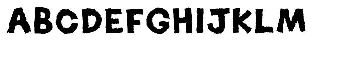 Spud AF Crisp Font UPPERCASE