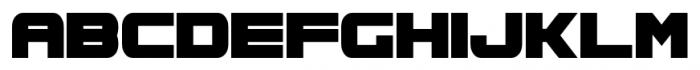 Spac3 Regular Font LOWERCASE