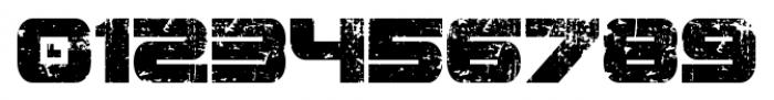 Spac3 destroyed Regular Font OTHER CHARS