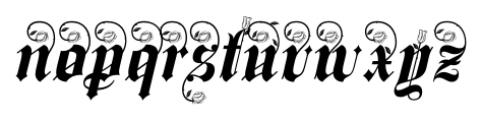 Spanish Rose  Alternates Font UPPERCASE
