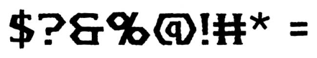 Spellbreaker BB Regular Font OTHER CHARS