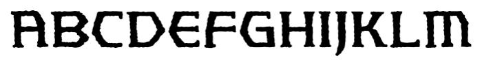 Spellbreaker BB Regular Font UPPERCASE