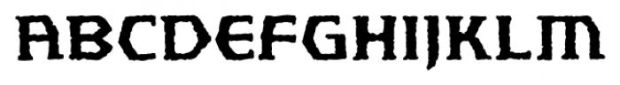 Spellbreaker BB Regular Font LOWERCASE