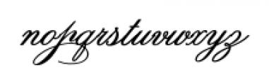 Spencerian Palmer Penmanship Pro Font LOWERCASE