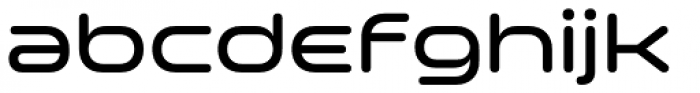 Space Colony Medium Font LOWERCASE