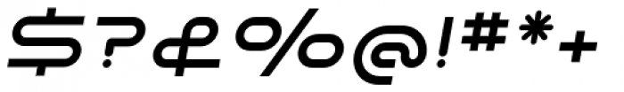 SpaceLab Italic Font OTHER CHARS