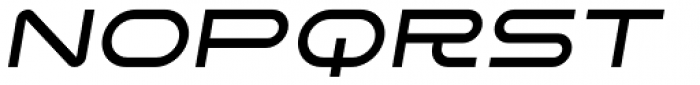 SpaceLab Italic Font UPPERCASE