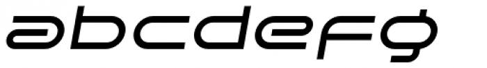SpaceLab Italic Font LOWERCASE