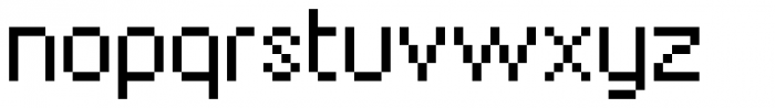 SpaceMace Font LOWERCASE