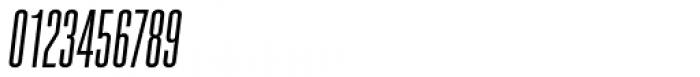 Spaceland Five Oblique Font OTHER CHARS