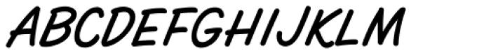 Spaghetti Western Sans Font UPPERCASE