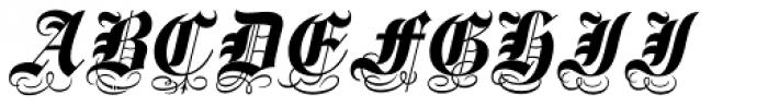 Spanish Main Font UPPERCASE