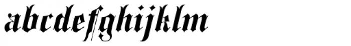 Spanish Rose Font LOWERCASE
