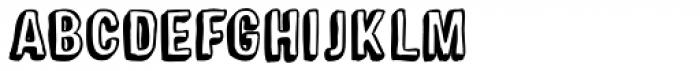 Sparhawk Black Font LOWERCASE