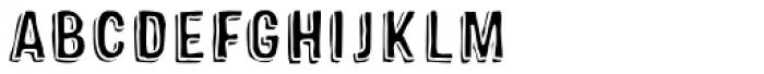Sparhawk Fill Font LOWERCASE