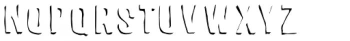 Sparhawk Shadow Font UPPERCASE